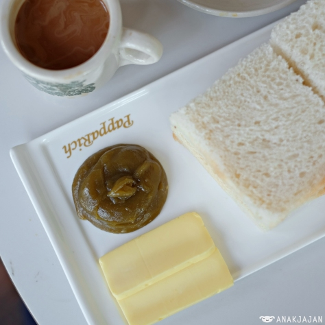 Hainan Steamed Bread with Butter + Kaya IDR 30k