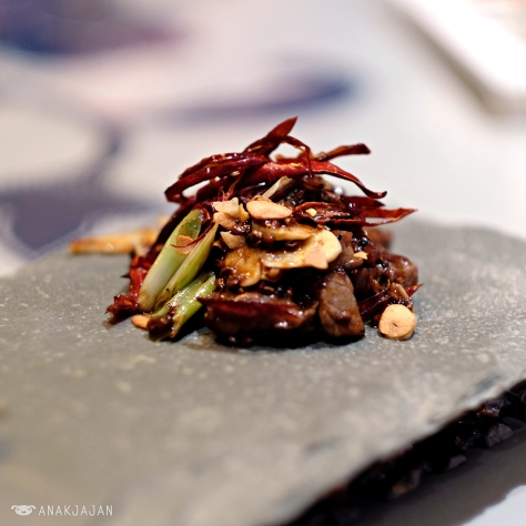 Sauteed Beef with Szechuan Pepper and Chili IDR 378k