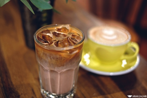 Ice Choco Coffee Malt IDR 55k