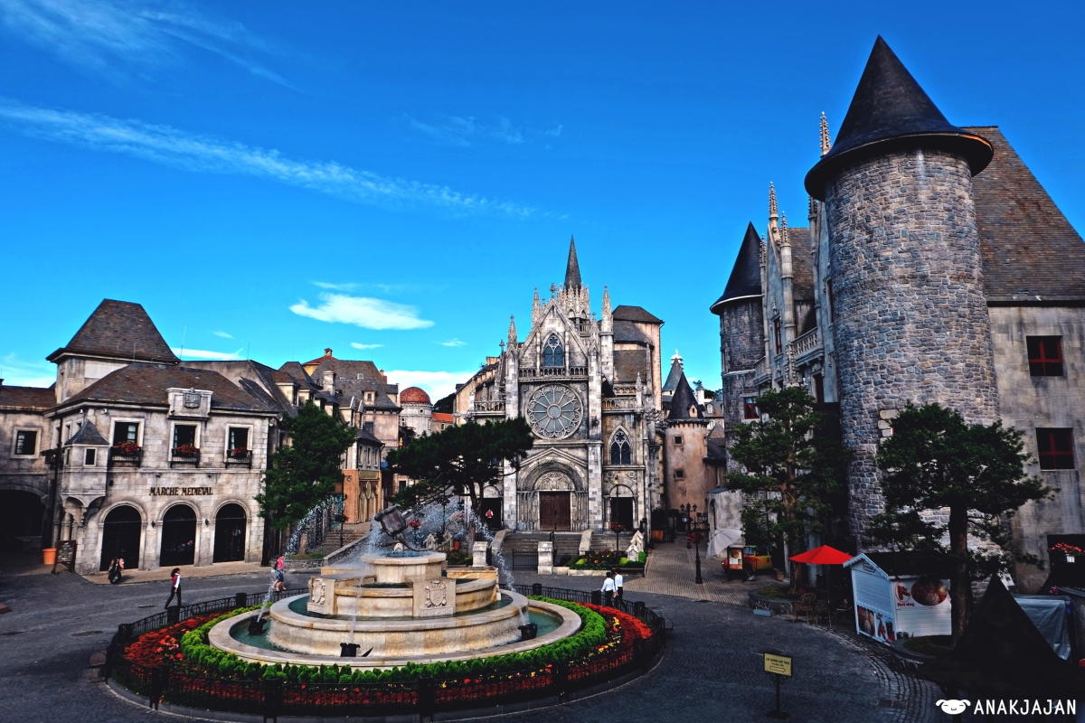 [VIETNAM] BA NA HILLS - FRENCH VILLAGE Travel Guide, Da Nang