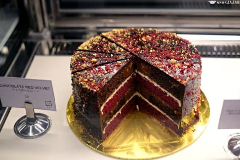 Red Velvet Choco Cake