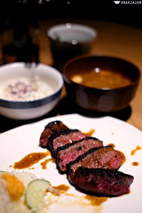 Fillet Mignon Steak Brown Butter Soy Set IDR 125k