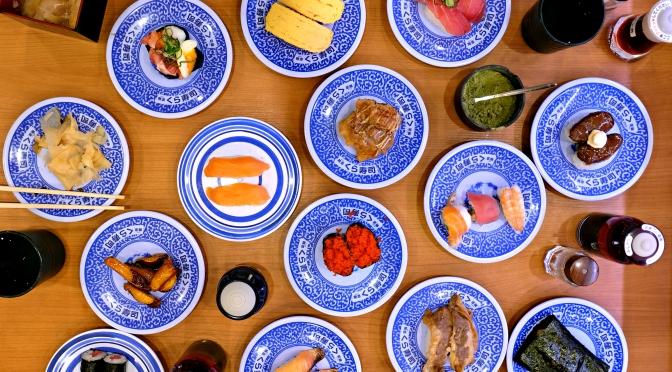 [JAPAN] KURA ZUSHI ¥100 Kaiten Sushi