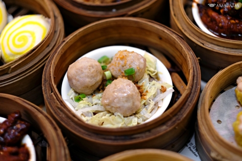 Steam Bakso Babi (Steamed Pork Meatballs) IDR 19k
