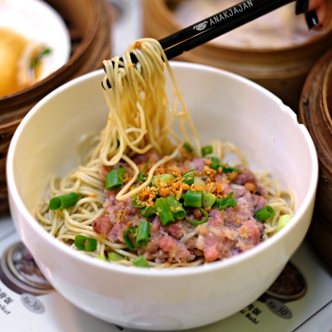 Mie Babi Steam (Steamed Pork Noodle) IDR 31k