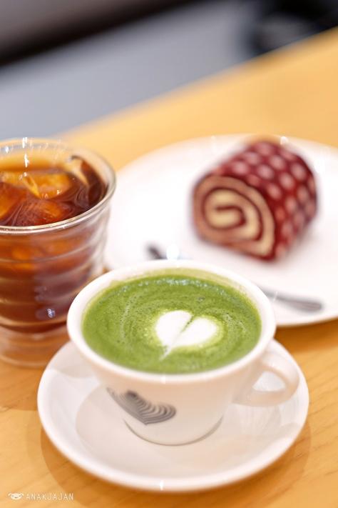 Hot Matcha Latte IDR 35k