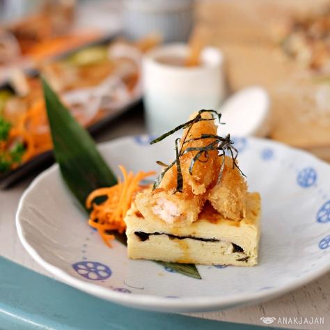 Tamagoyaki with Ebi Tempura IDR 24k