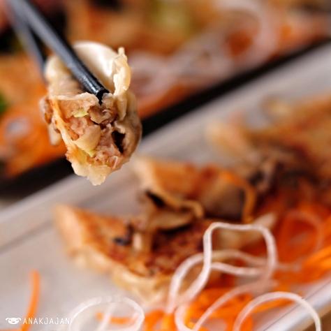 Chicken Truffle Mushroom Gyoza IDR 42k