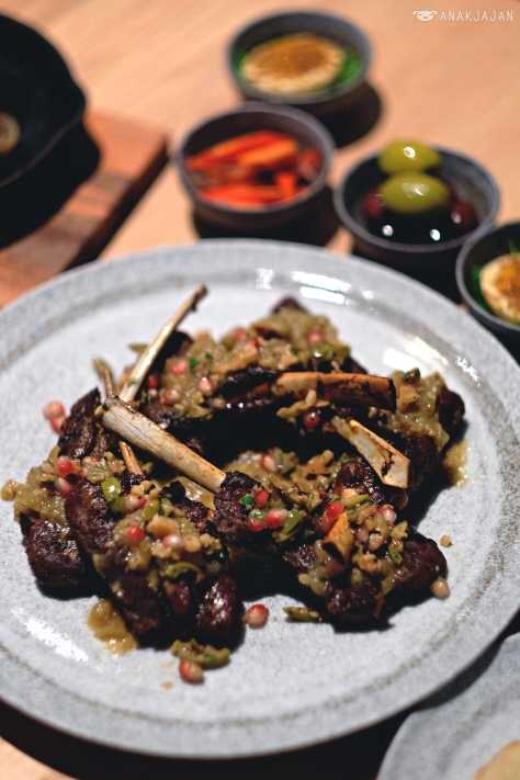 Slowcooked Lamb Shoulder Chops IDR 400k