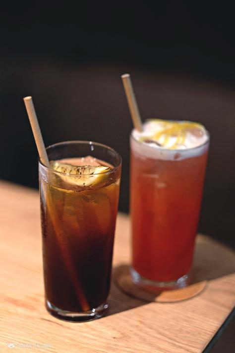 Grilled Lemonade IDR 50k // Roseberry Fizz IDR 50k