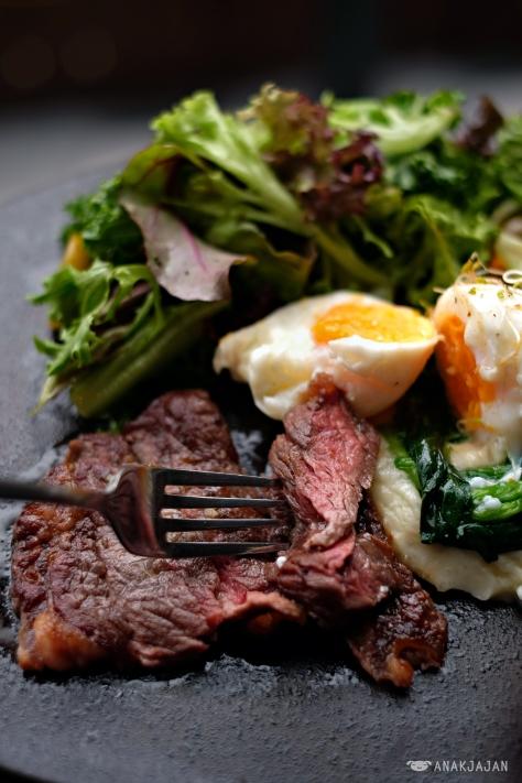 Steak And Eggs IDR 99k