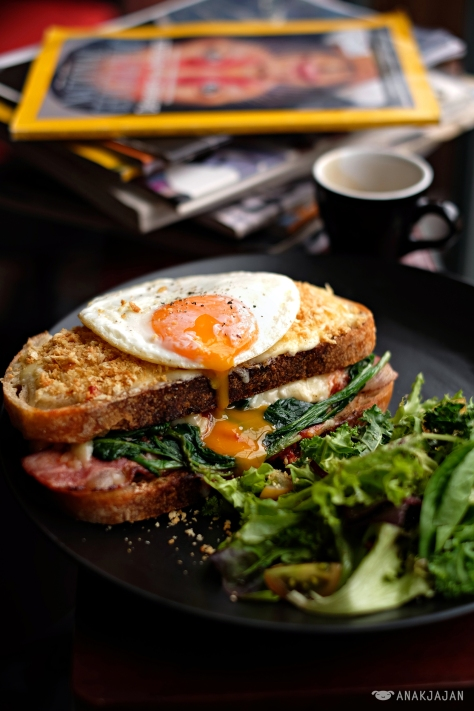 Croque Madame IDR 70k