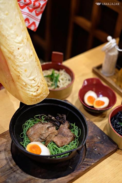 Butao Ramen + Raclette Cheese IDR 98k