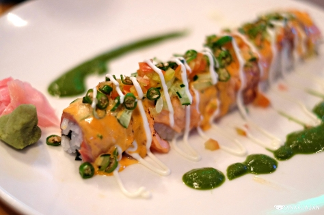 Spicy Salmon Samba Roll IDR 65.5k
