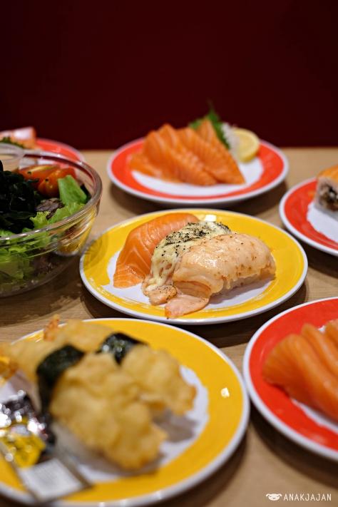 Salmon Triple Flavor IDR 33k