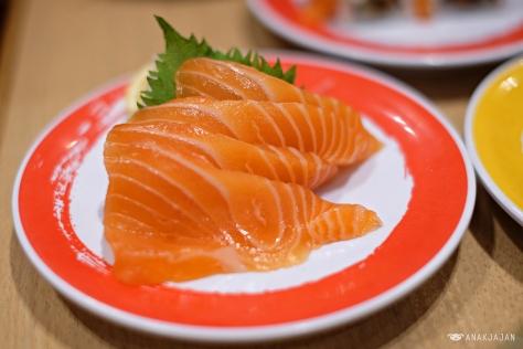 Salmon Sashimi IDR 39k