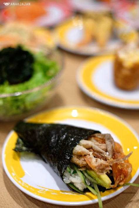 Soft Shell Crab Handroll IDR 35k