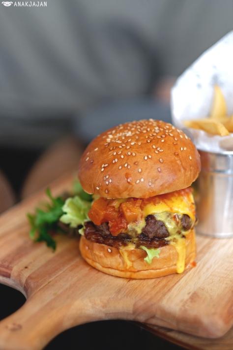 Patty Melt Burger IDR 105k