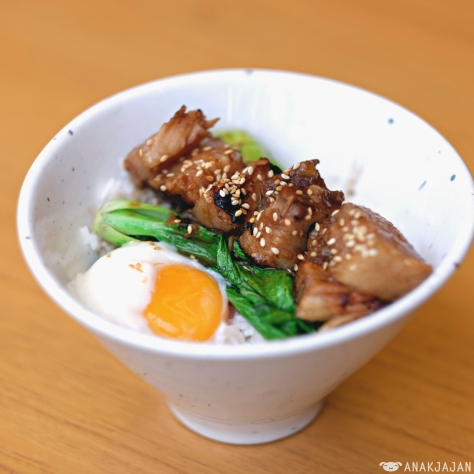 Pork Belly Rice Bowl IDR 85k