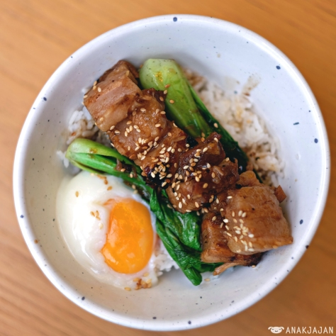 Pork Belly Rice Bowl IDR 85k