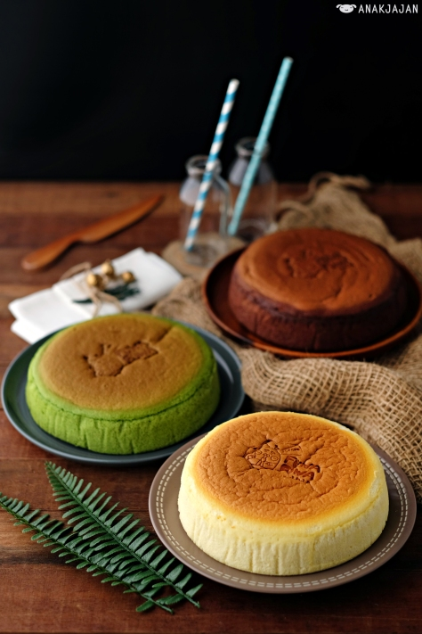 Signature Cheesecake IDR 100k // Chocolate IDR 120k // Matcha IDR 120k