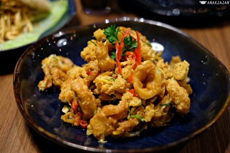 Squid with Salted Egg yolk IDR 69k