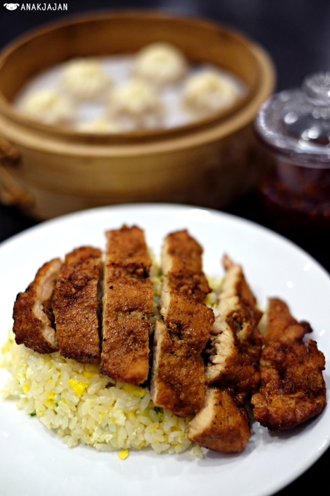 Fried Rice with Pork Chop IDR 68k