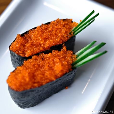 Tobiko Sushi IDR 22k