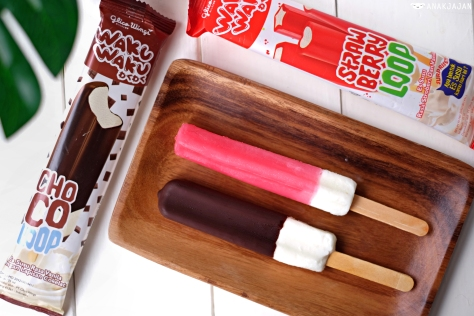 Waku Waku Choco Loop IDR 1k // Waku Waku Strawberry Loop IDR 1k
