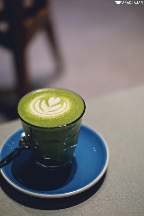 Matcha Latte IDR 40k
