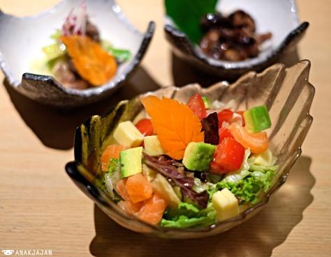 Salmon Avocado No Salada IDR 68k