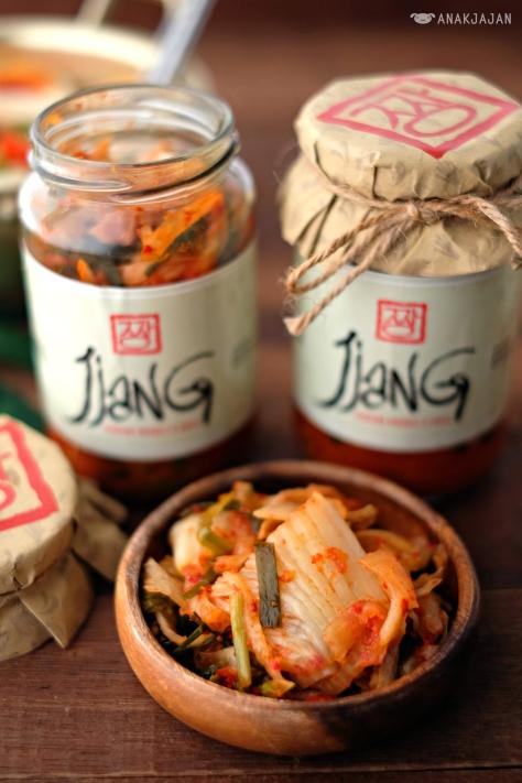 Kimchi IDR 49k/ bottle (330gr)