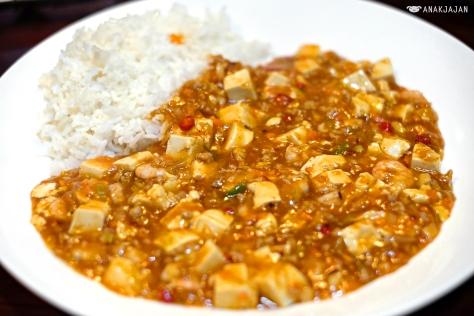 Mapo Tofu Rice (Mapa Dubu Bab) IDR 70k