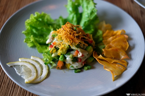 Ceviche Red Snapper IDR 80k