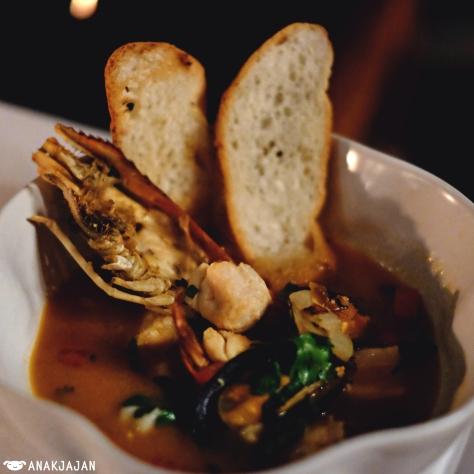 Jimbaran Seafood Pot Au Feu