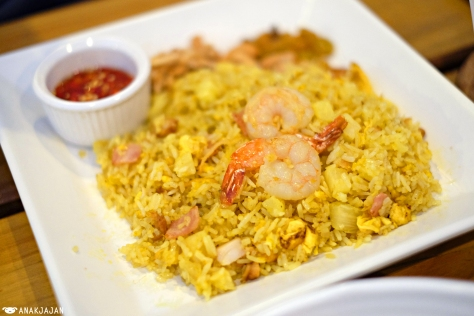 Pineapple Fried Rice THB 165