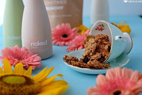 naked press granola