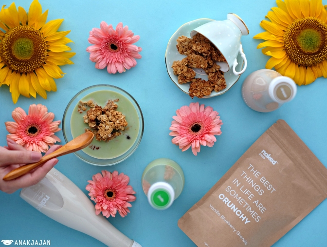NAKED PRESS – GRANOLA [New Product]