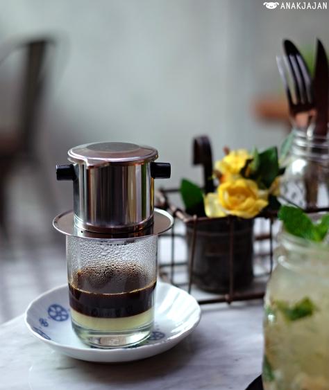 Vietnamese Coffee (Hot) IDR 35k