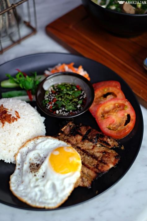 Pork Chop with Jasmine Rice IDR 95k