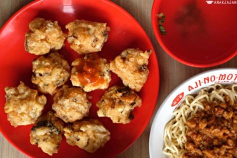 Bakso Udang Goreng (Shrimp Fritters) IDR 48k