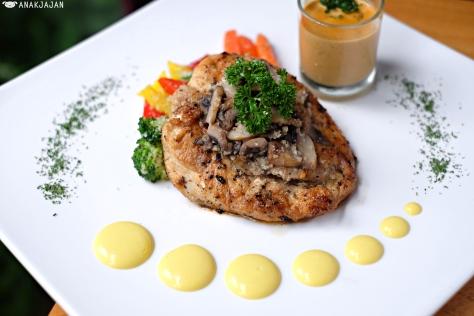 Roast Chicken Mushroom IDR 130k