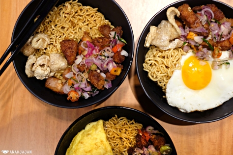 Indomie Babi Goreng Sambal Matah IDR 37k or IDR 40k with Egg