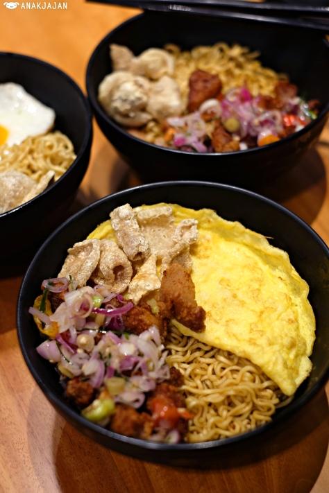 Indomie Babi Goreng Sambal Matah IDR 37k or IDR 40k with Egg