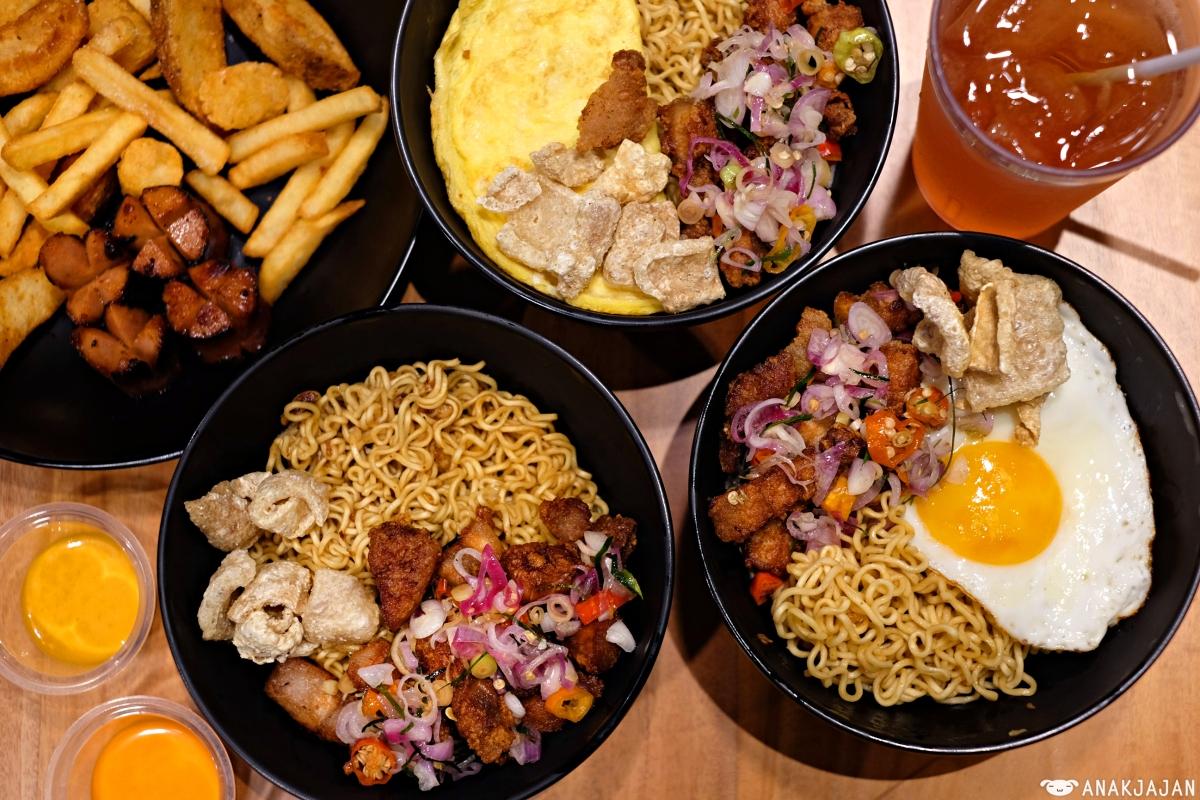 Warbiku Muara Karang Jakarta Samcan Babi Special Pork Belly