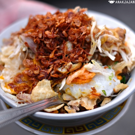 6 Must Try Recommended Bubur Ayam Chicken Porridge In