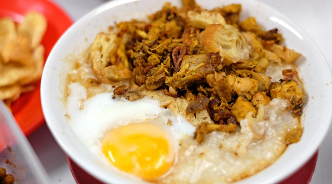 6 MUST TRY RECOMMENDED BUBUR AYAM (Chicken Porridge) in Jakarta