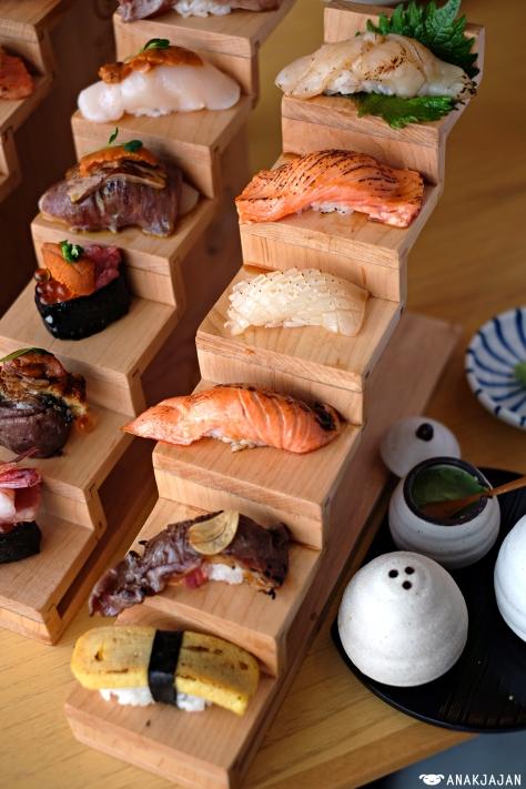 Hiro Aburi Sushi IDR 100k