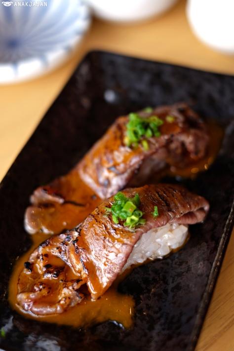 Aburi Beef Special IDR 70k (2pcs)