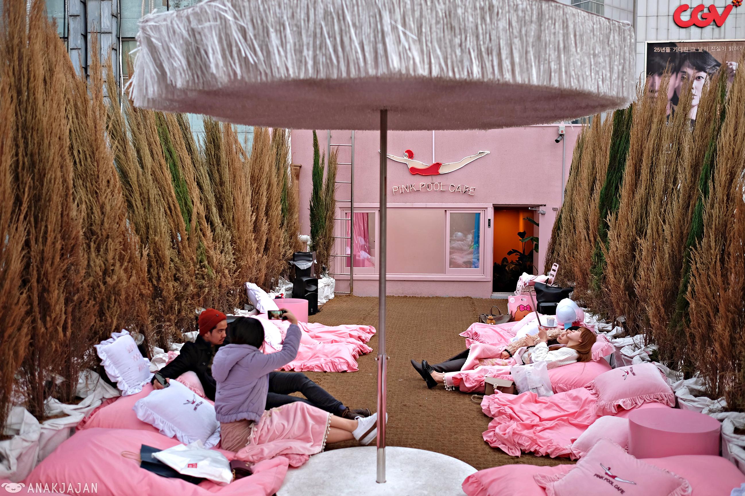 KOREA] STYLENANDA PINK HOTEL \u0026 PINK POOL CAFE \u2013 Myeongdong